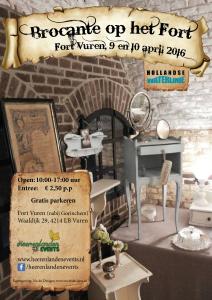 Flyer Fort Vuren 9 & 10 April 2016